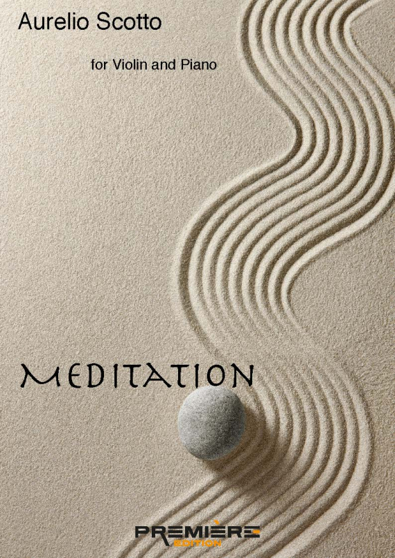 Meditation by Aurelio Scotto